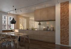 Panele Quadro w formie kwadratowych ciosanych elementów z drewna naturalnego, sprawdzą się zarówno w nowoczesnej, jak i tradycyjnej aranżacji.