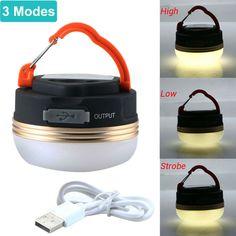 1W pop up led lanterne et flash light-portable outdoor rated lumière de camping//t