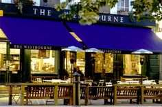 The Westbourne in Notting Hill. The best gastropub I've ever been to. Love drinking there with my friend Chris Lepine.