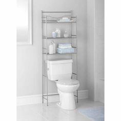 Bathroom Storage Rack 3 Shelf Over Toilet Metal Space Saver Towel Organizer  New   Go Shop Home U0026 Garden