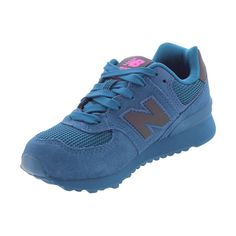 New Balance - Girl's Urban Twilight 574 Sneakers (Little Kid) - Teal
