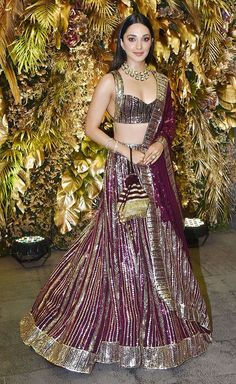 Unseen Pictures From The Grand Wedding Of Armaan Jain And Anissa Malhotra! Designer Bridal Lehenga, Indian Bridal Lehenga, Indian Bridal Outfits, Indian Fashion Dresses, Indian Bridal Fashion, Dress Indian Style, Lehenga Saree Design, Lehenga Designs, Indian Attire