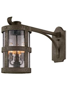 Buy the Troy Lighting Barbosa Bronze Direct. Shop for the Troy Lighting Barbosa Bronze Barbosa 3 Light Long-Arm Outdoor Wall Sconce and save. Outdoor Wall Lantern, Outdoor Wall Sconce, Outdoor Wall Lighting, Outdoor Walls, Lantern Lighting, House Lighting, Troy Lighting, Rustic Lighting, Thing 1