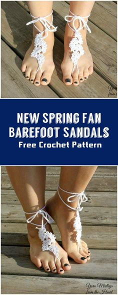 Crochet Barefoot Sandals - 50+ Free Crochet Patterns - Page 9 of 10 - DIY & Crafts
