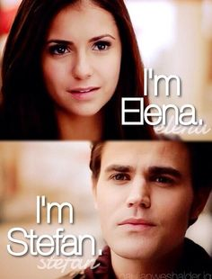 If Stefan & Elena were to meet in a perfect world. Ik I ship Delena but in these visions Stefan & Elena were so happy :)