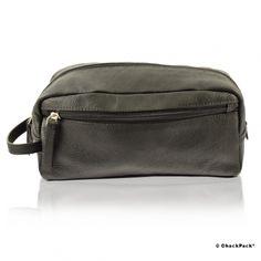 Fein verarbeitet, für schöne Reisen: Becker Manicure Kulturtasche aus Rindleder | ChackPack.com