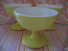 Hey, I found this really awesome Etsy listing at http://www.etsy.com/listing/109617567/vintage-yellow-hazel-atlas-modern-tone
