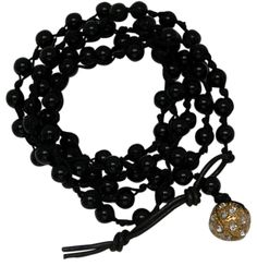 Wrap bracelet 5 times around wrist or double for a necklace...good with all Classic Legacy charms also.  www.classiclegacy.com