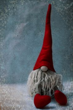 Tonttu by ania115 on Flickr.    Christmas Gnome… He makes me smile :)