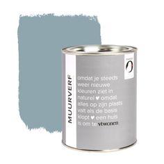 vtwonen muurverf 1 L - old blue - afbeelding 1