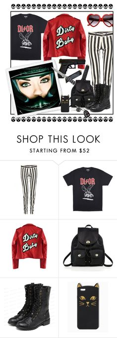 """""""Standard Features 79"""" by antoniasalvato ❤ liked on Polyvore featuring Yves Saint Laurent, High Heels Suicide, POLICE, Coach and yeswalker"""