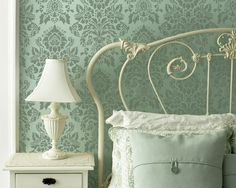 Wall Stencil Antoinette Damask Allover Stencil for DIY Painted Wallpaper on Etsy, $42.00