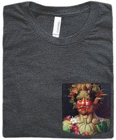 Vertumnus Pocket Shirt (Giuseppe Arcimboldo)