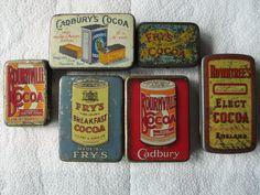 Cocoa powder sample tins