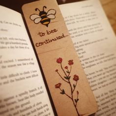 'It's okay to lose yourself for a little while. In books, in music, in art. Let yourself get lost! Creative Bookmarks, Handmade Bookmarks, Cute Bookmarks, Bookmark Craft, Bookmark Ideas, Paper Bookmarks, Corner Bookmarks, Cool Paper Crafts, Vinyl Crafts