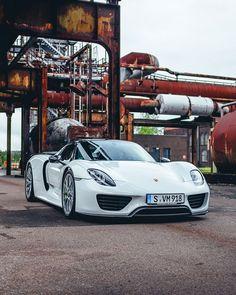 "205.5k Likes, 728 Comments - #porsche (@porsche) on Instagram: ""In the first Top 5 episode Porsche test driver Lars Kern introduces @ansel to the 918 Spyder. Watch…"""