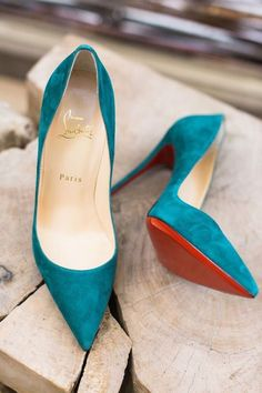 Turquoise suede Louboutin pointy pumps for more findings pls visit… Pretty Shoes, Beautiful Shoes, Cute Shoes, Me Too Shoes, Christian Louboutin Outlet, Crazy Shoes, Shoe Boots, Shoes Heels, Teal Heels