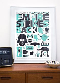 ESB   Awesome poster for Ethan's room $43.00