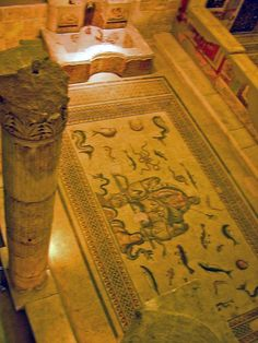Mosaic from Zeugma at the Museum of Gaziantep, Turkey