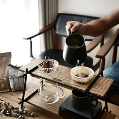 Strange how a teapot can represent at the same time the comforts of solitude and the pleasures of company. Coffee Is Life, Coffee Type, Coffee Shop, Surf Coffee, Coffee Brewing Methods, Brew Bar, Coffee Equipment, Coffee Dripper, Coffee Stands