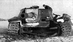 .Internal explosion of SU-152. Well, you can see elements of load torque axles suspension wheels and wheel mechanisms of tension.