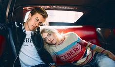 Lucky Blue Smith and his sister Pyper America . Iceberg   Fall Winter 2017 Campaign by Samuel Trotter