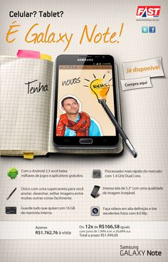 GALAXY NOTE - EMAIL MKT by André Garbeline, via Behance    편집 - 포토 자르는 방법