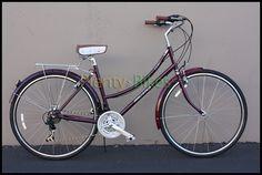 Freespirit City Ladies Urban Bike Bicycle 19 Purple