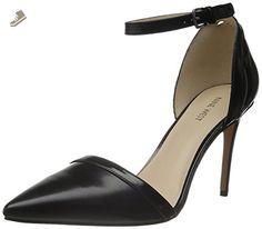 Nine West Women's Timeshare Leather Dress Pump, Black/Black, 10 M US - Nine west pumps for women (*Amazon Partner-Link)