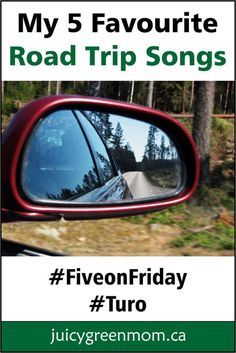 My must have #roadtrip songs. Have you tried #carsharing with #Turo? #fiveonfriday