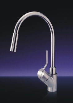 mgs designs p unico single hole pull kitchen faucet polished mgs designs wf p water filter