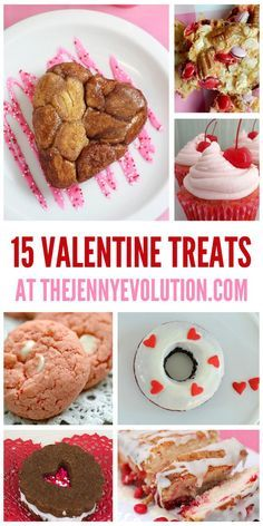 Valentine Treat Recipes. Your loved one will love these baked goodies!   The Jenny Evolution