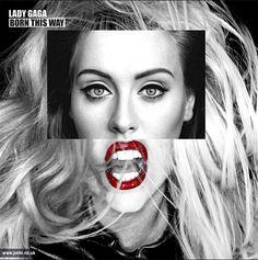 Friday fun: To πρόσωπο της Adele ταιριάζει σε όλα τα εξώφυλλα δίσκων! - JoyTV