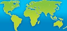 map highlighting asia and africa - Google Search