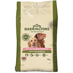 Harringtons Complete Rich In Salmon and Potato 12 Kg - You can read more reviews of the product by visiting the link on the image. (This is an affiliate link and I receive a commission for the sales)