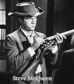 Steve McQueen Steve Macqueen, Mc Queen, Great Western, Western Movies, Bounty Hunter, Hollywood Stars, Canvases, Cowboys, The Man