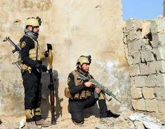"""Ein Militärsprecher hatte am Dienstag angekündigt, dass Ramadi """"in den..."""