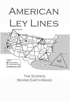 Magnetic Ley Lines In America  United States Of America