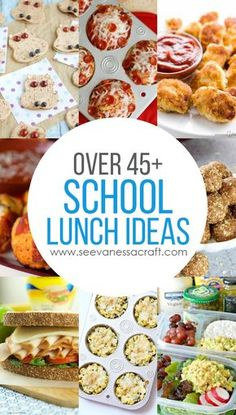 Over 45+ Back to School Lunch Ideas and Recipes - easy ideas for the lunchbox!