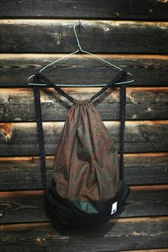 Paisley Love! Old Clothes, Drawstring Backpack, Paisley, Backpacks, Fabric, Bags, Fashion, Tejido, Handbags