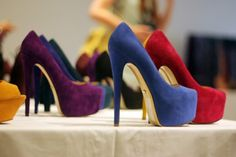 Tall Heels! - I'll take a pair in every color!!