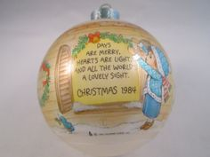 Days are Merry Christmas Collectible Keepsake by EauPleineVintage