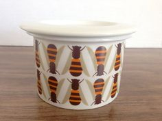 Arabia of Finland Bees Jam Honey Pot With Lid Finel