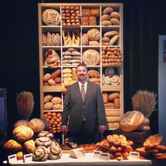 The wall of @ACE_Bakery bread - by @Philippe Gaudet