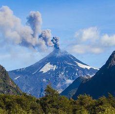 Villarrica Volcano, Araucanía Region, Chile.
