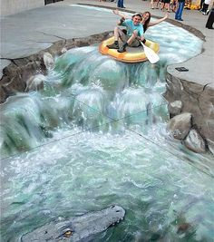 5 of the most talented 3D sidewalk artists