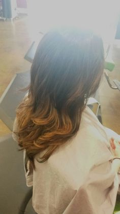 Pumpkin ombre by Mar