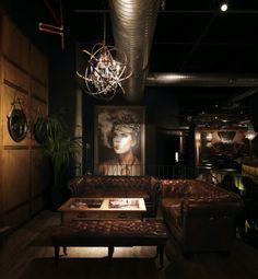 Aydınlatma ve Dekor Dünyasından Gelişmeler: Andrea Langhi'den İtalya'da Sagamor Lounge Bar & Restaurant #aydinlatma #lighting #design #tasarim #dekor #decor