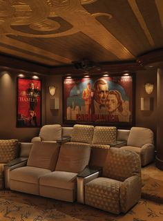 Dream your way through Monday morning with a peek at our Fantasy Homes issue. This private movie theatre is at the top of our wishlist for the ultimate Friday night in. #westernliving