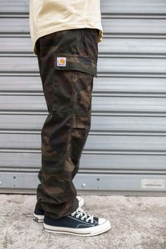 Cargo Pants Outfit Men, Carhartt Cargo Pants, Carhartt Wip, Fashion Pants, Fashion Outfits, Dope Outfits For Guys, Clothes Encounters, Baggy Clothes, Looks Vintage